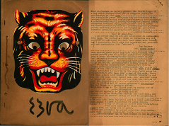 Ezra zine cover, Bombay Poets, India