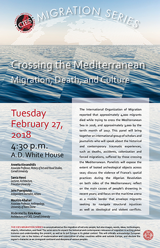 Crossing the Mediterranean Event Poster