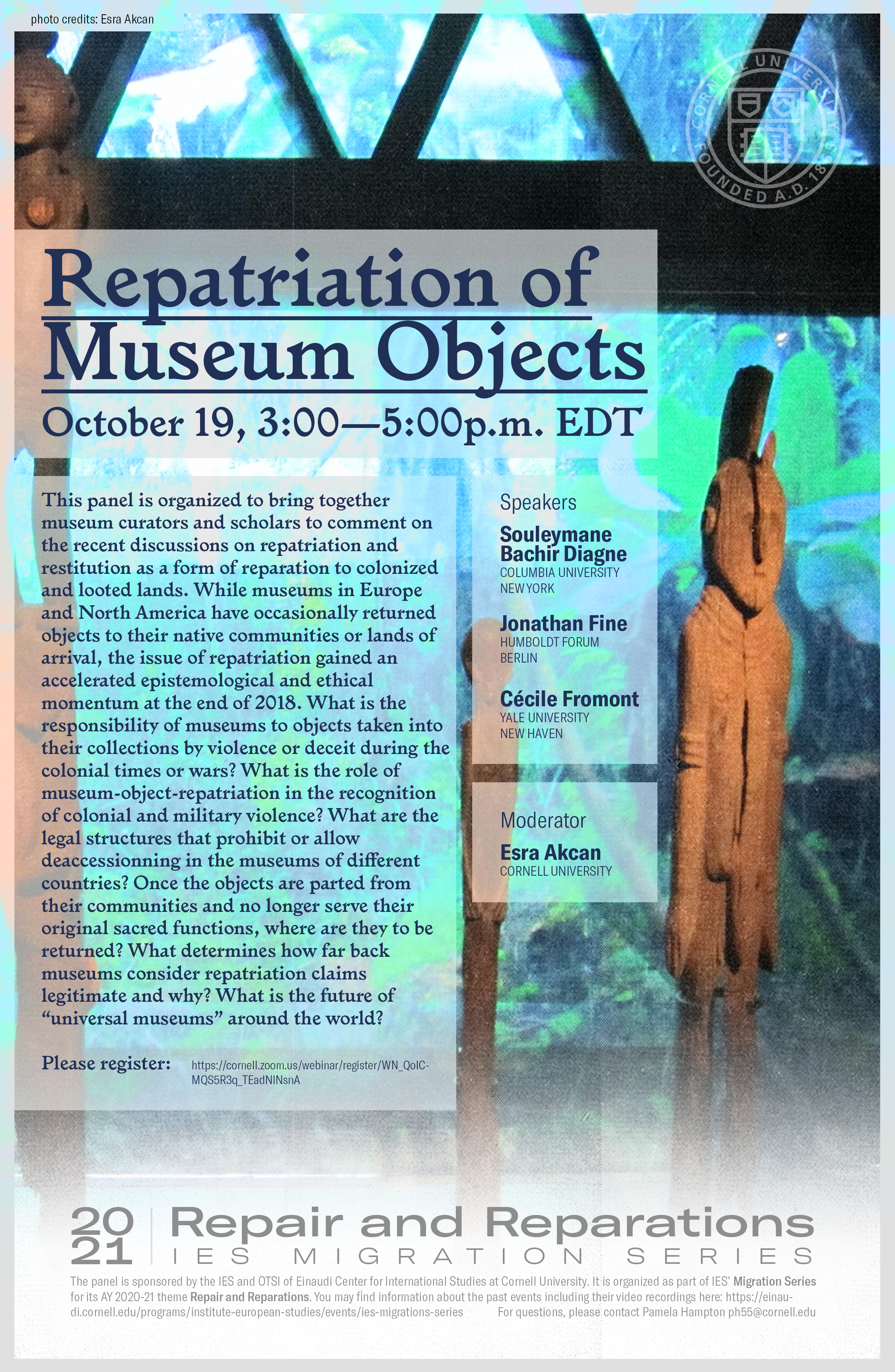 Repatriation of Museum Objects Poster