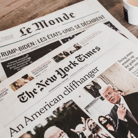 International newspapers from Thursday, November 5, 2020 – Le Monde and New York Times